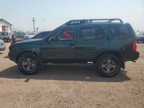 2002 Nissan Xterra for sale at PYRAMID MOTORS - Fountain Lot in Fountain CO