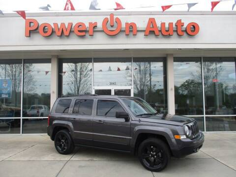2015 Jeep Patriot for sale at Power On Auto LLC in Monroe NC