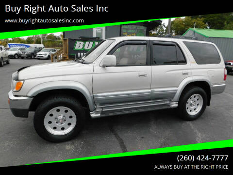 1997 Toyota 4Runner for sale at Buy Right Auto Sales Inc in Fort Wayne IN