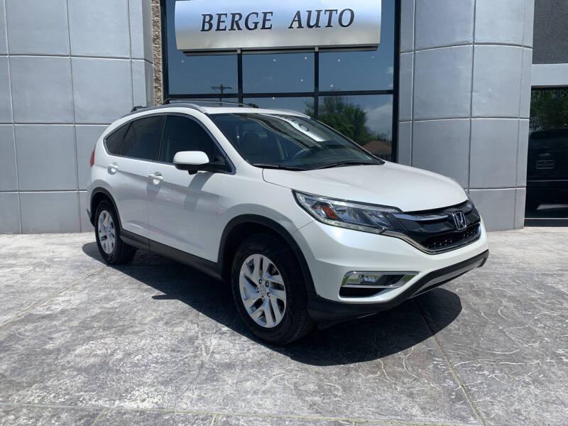 2016 Honda CR-V for sale at Berge Auto in Orem UT