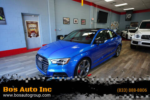 2019 Audi S3 for sale at Bos Auto Inc in Quincy MA