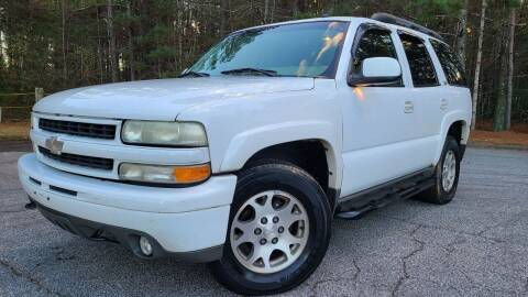 2002 Chevrolet Tahoe for sale at Global Imports Auto Sales in Buford GA