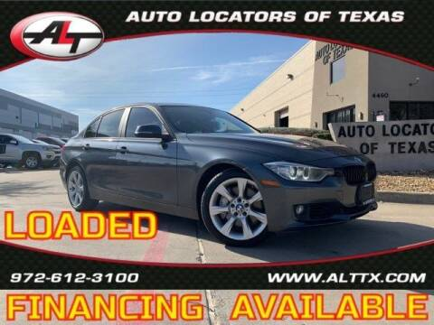 2013 BMW 3 Series for sale at AUTO LOCATORS OF TEXAS in Plano TX
