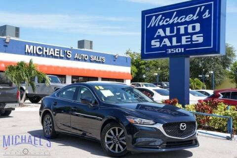 2018 Mazda MAZDA6 for sale at Michael's Auto Sales Corp in Hollywood FL