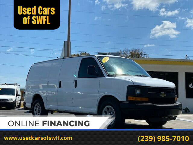 2013 Chevrolet Express Cargo for sale at Used Cars of SWFL in Fort Myers FL