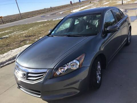 2012 Honda Accord for sale at Bam Motors in Dallas Center IA