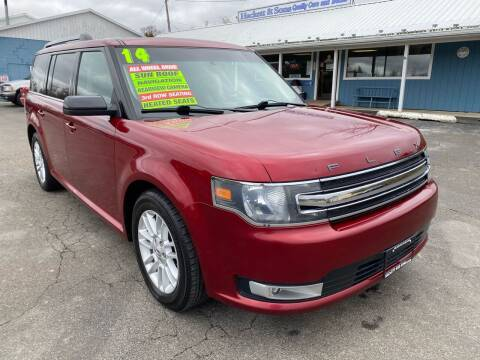 2014 Ford Flex for sale at HACKETT & SONS LLC in Nelson PA