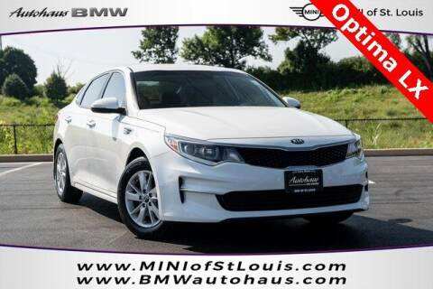 2018 Kia Optima for sale at Autohaus Group of St. Louis MO - 40 Sunnen Drive Lot in Saint Louis MO