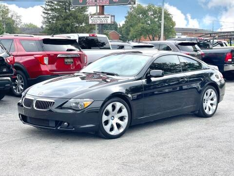 2006 BMW 6 Series for sale at Featherston Motors in Lexington KY