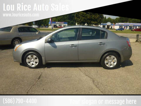 2009 Nissan Sentra for sale at Lou Rice Auto Sales in Clinton Township MI