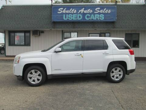 2011 GMC Terrain for sale at SHULTS AUTO SALES INC. in Crystal Lake IL