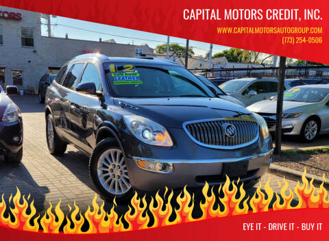 2012 Buick Enclave for sale at Capital Motors Credit, Inc. in Chicago IL
