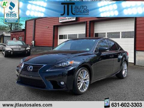 2016 Lexus IS 300 for sale at JTL Auto Inc in Selden NY