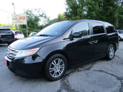 2012 Honda Odyssey for sale at AUTO STOP INC. in Pelham NH
