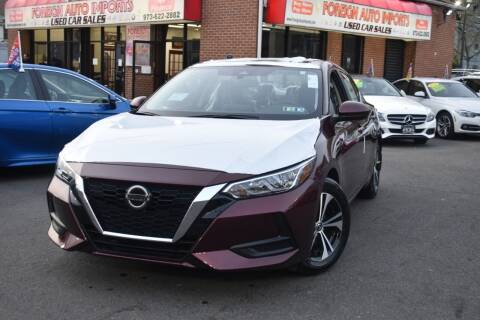 2021 Nissan Sentra for sale at Foreign Auto Imports in Irvington NJ