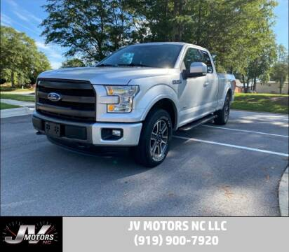2015 Ford F-150 for sale at JV Motors NC LLC in Raleigh NC