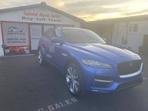 2018 Jaguar F-PACE for sale at Speed Auto Sales in El Cajon CA