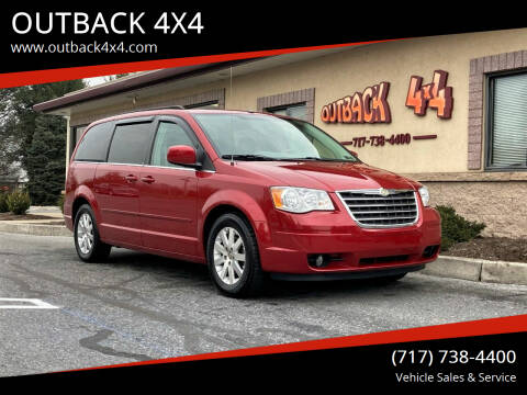 2008 Chrysler Town and Country for sale at OUTBACK 4X4 in Ephrata PA