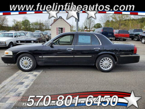 2008 Mercury Grand Marquis for sale at FUELIN FINE AUTO SALES INC in Saylorsburg PA