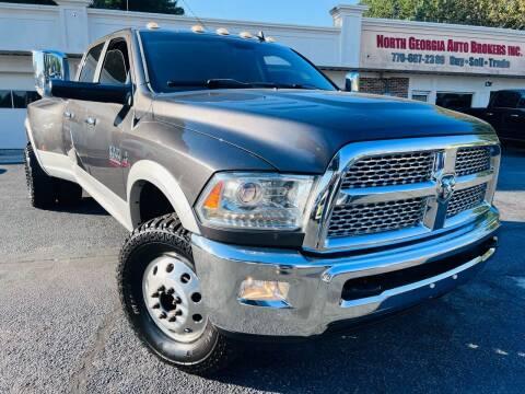 2015 RAM Ram Pickup 3500 for sale at North Georgia Auto Brokers in Snellville GA