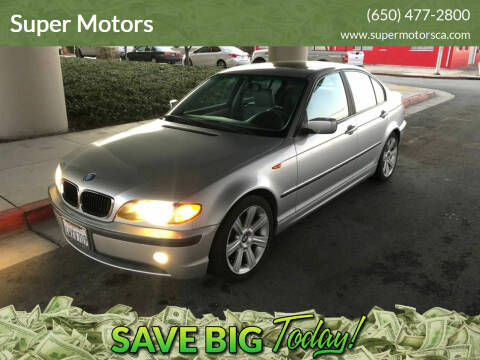 2002 BMW 3 Series for sale at Super Motors in San Mateo CA