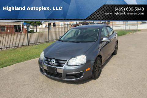 2010 Volkswagen Jetta for sale at Highland Autoplex, LLC in Dallas TX