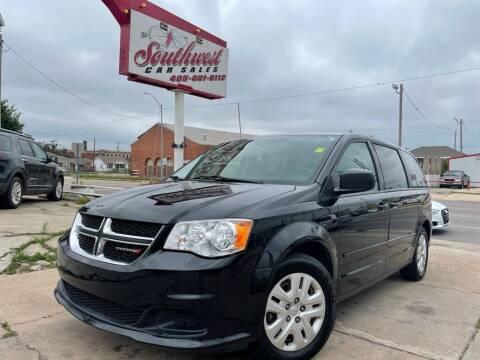 2017 Dodge Grand Caravan for sale at Southwest Car Sales in Oklahoma City OK