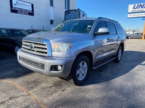 2008 Toyota Sequoia for sale at AUTOSAVIN in Elmhurst IL