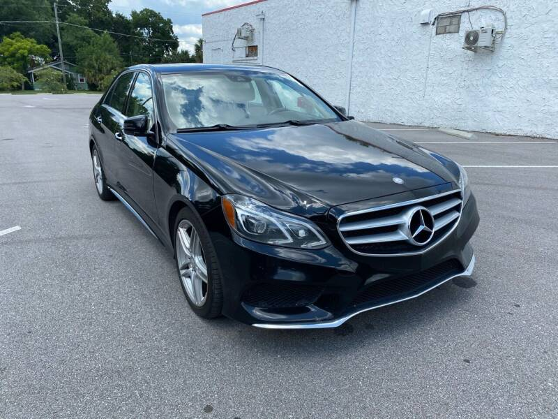 2014 Mercedes-Benz E-Class for sale at LUXURY AUTO MALL in Tampa FL