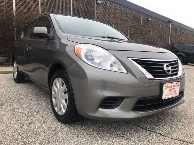 2012 Nissan Versa for sale at Classic Motor Group in Cleveland OH