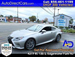 2017 Lexus RC 200t for sale at Auto Direct Trucks.com in Edgewater Park NJ