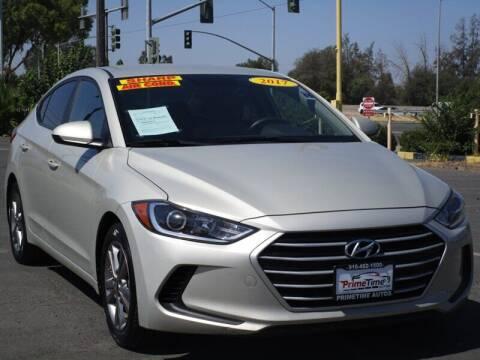2017 Hyundai Elantra for sale at PRIMETIME AUTOS in Sacramento CA