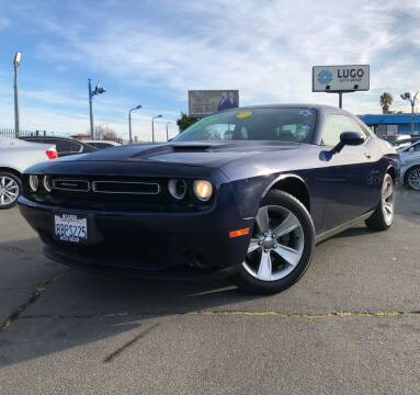 2015 Dodge Challenger for sale at LUGO AUTO GROUP in Sacramento CA