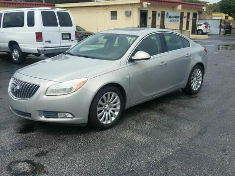 2011 Buick Regal for sale at KK Car Co Inc in Lake Worth FL