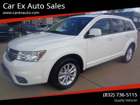 2013 Dodge Journey for sale at Car Ex Auto Sales in Houston TX