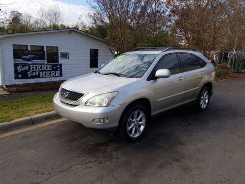 2008 Lexus RX 350 for sale at TR MOTORS in Gastonia NC