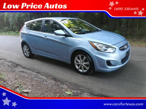 2012 Hyundai Accent for sale at Low Price Autos in Beaumont TX