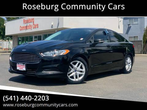 2016 Ford Fusion for sale at Roseburg Community Cars in Roseburg OR