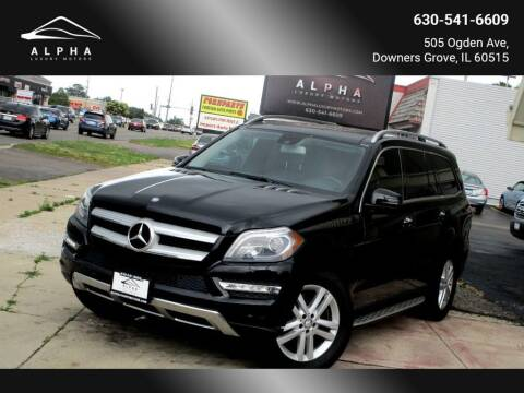 2013 Mercedes-Benz GL-Class for sale at Alpha Luxury Motors in Downers Grove IL