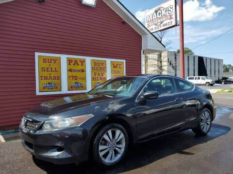 2010 Honda Accord for sale at Mack's Autoworld in Toledo OH
