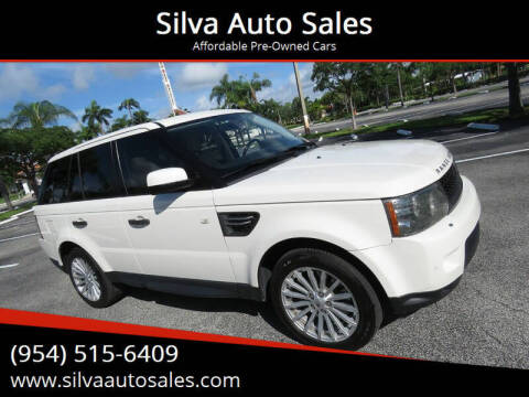 2010 Land Rover Range Rover Sport for sale at Silva Auto Sales in Pompano Beach FL