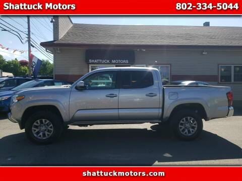 2019 Toyota Tacoma for sale at Shattuck Motors - NEKtrucks.com in Newport VT