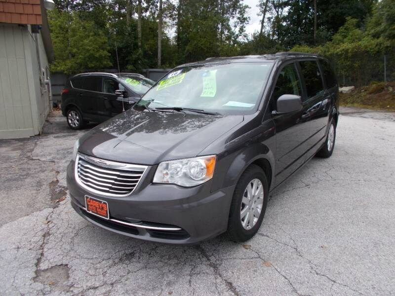 2016 Chrysler Town and Country for sale at Careys Auto Sales in Rutland VT