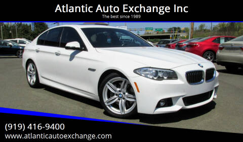 2016 BMW 5 Series for sale at Atlantic Auto Exchange Inc in Durham NC