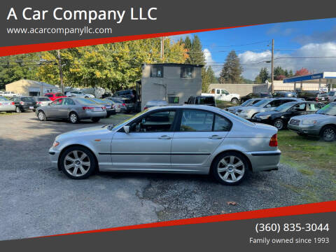 2002 BMW 3 Series for sale at A Car Company LLC in Washougal WA