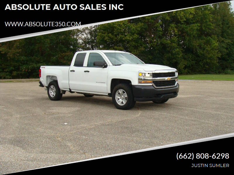 2019 Chevrolet Silverado 1500 LD for sale at ABSOLUTE AUTO SALES INC in Corinth MS