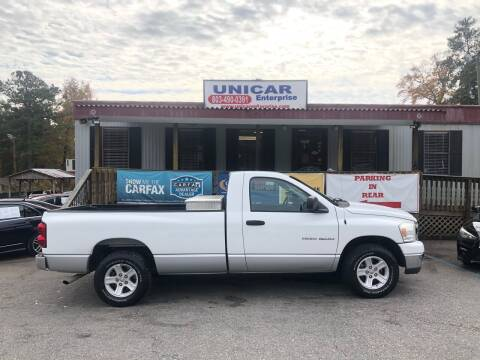 2007 Dodge Ram Pickup 1500 for sale at Unicar Enterprise in Lexington SC