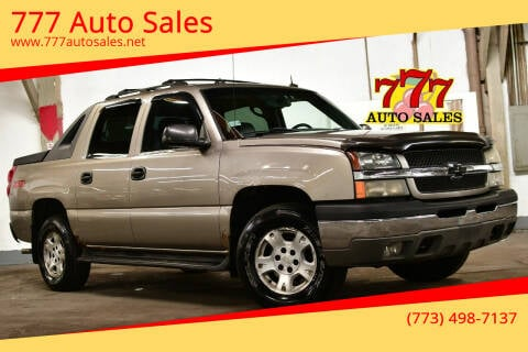 2003 Chevrolet Avalanche for sale at 777 Auto Sales in Bedford Park IL