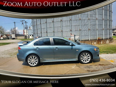 2009 Mitsubishi Lancer for sale at Zoom Auto Outlet LLC in Thorntown IN
