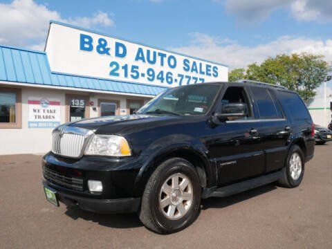2006 Lincoln Navigator for sale at B & D Auto Sales Inc. in Fairless Hills PA